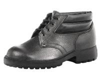 Ботинки кожаные «Бизон» с усиленным подноском на ПУ подошве